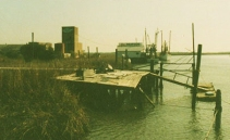 Photo: Old Marina Dock, (1992) - compliments of Captain Mike & Iris Scarbrough