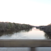 GA Hwy. 119 bridge across the Savannah River at Clyo.