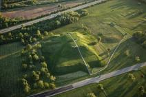 Cahokia Mound Site in Illinois holds the remnants of the largest and most influential city of the mound-building Mississippian culture.
