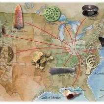 """Hopewell Interaction Sphere"" (Pre-Historic Native American Trade Network)"
