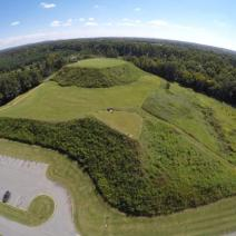 Ocmulgee National Monument near Macon, Georgia